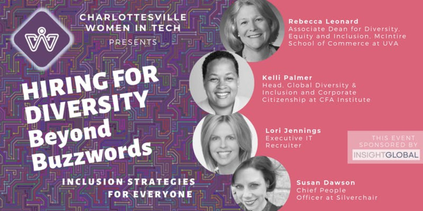Charlottesville Women in Tech Lunch 2019